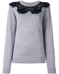 Marc Jacobs Crochet Collar Jumper