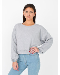 American Apparel California Fleece Cropped Sweatshirt | Where to ...