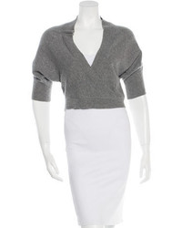 Brunello Cucinelli Cropped Cashmere Sweater
