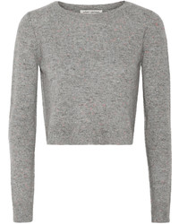 Autumn Cashmere Cropped Cashmere Sweater
