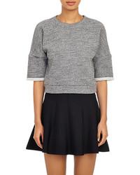 Derek Lam Cropped Sweatshirt