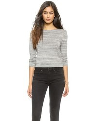 Getting Back To Square One Cropped Sweatshirt