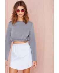 Glamorous Katie Scuba Crop Sweatshirt