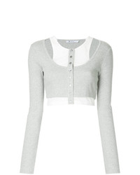 T by Alexander Wang Longsleeved Crop Tee