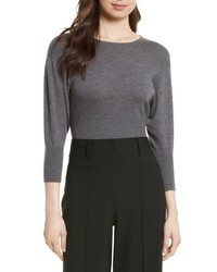 Merino crop sweater medium 5208963