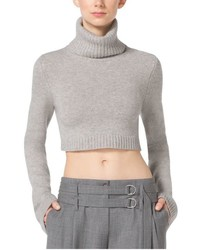 Michl kors cropped cashmere turtleneck medium 469047