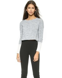 Top Secret Nantucket Cropped Sweater