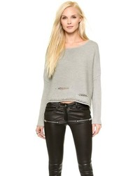Ramy Brook Willow Cropped Sweater