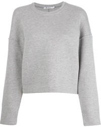 Alexander Wang T By Cropped Sweatshirt