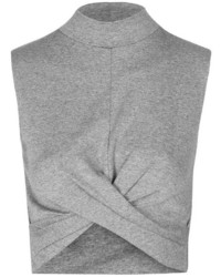Topshop Twist Front Crop