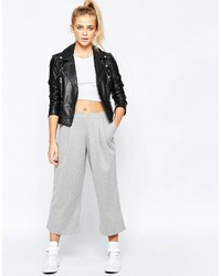 Boohoo Bonded Pleat Front Culottes