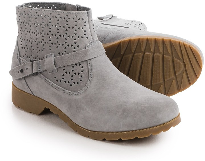 ... Teva De La Vina Ankle Perf Boots Suede ...