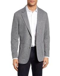 Grey Denim Blazer