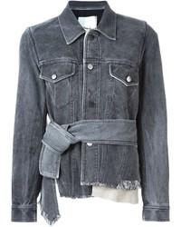 3.1 Phillip Lim Banded Denim Jacket