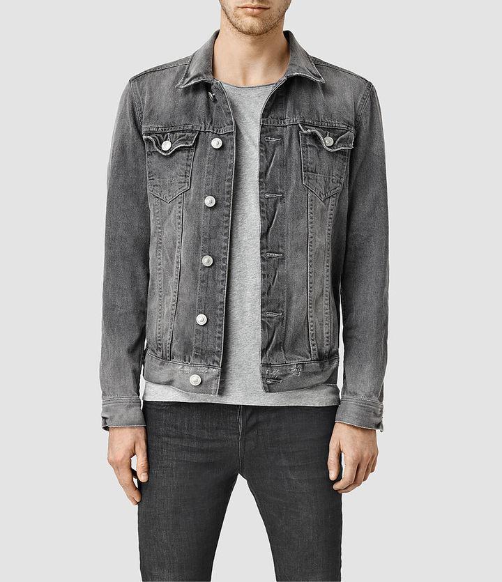 AllSaints Garford Denim Jacket   Where to buy & how to wear