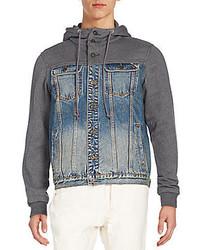 Cult of Individuality Heritage Hooded Denim Jacket