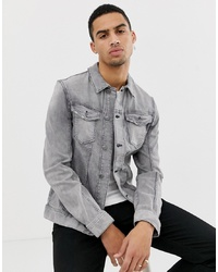 Tom Tailor Denim Jacket In Grey Wash