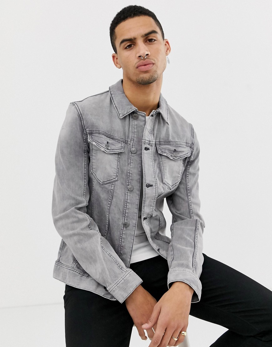 Offizielle Website exquisite handwerkskunst abgeholt Denim Jacket In Grey Wash