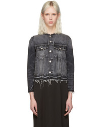 Grey denim lola jacket medium 1044519