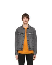 Off-White Grey Denim Wr Slim Jacket
