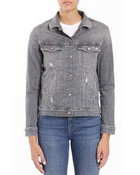 Mavi Jeans Katy Mid Grey Tribeca Denim Jacket