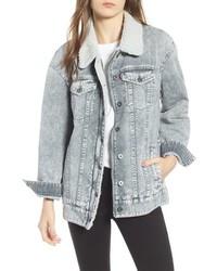 Oversize denim trucker jacket medium 8681513
