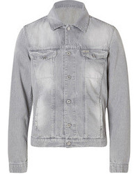 7 For All Mankind Seven For All Mankind Denim Jacket In Cloudsdriver