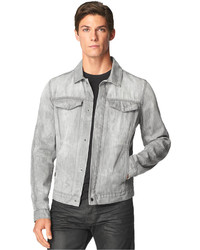 Men's Grey Denim Jackets by Calvin Klein Jeans | Men's Fashion