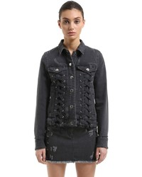 Zayn x denim jacket w laces medium 4417758