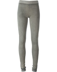 Rick Owens Drkshdw Washed Denim Effect Leggings