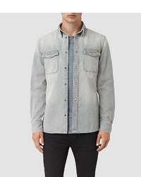 AllSaints Ardno Denim Shirt