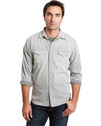 Lucky Brand Classic Fit Dylan Denim Western Sport Shirt