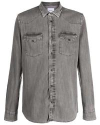 Dondup Flap Pocket Washed Shirt