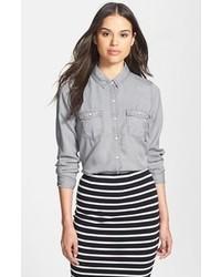 4f78fc58 Women's Grey Shirts by Halogen | Women's Fashion | Lookastic.com