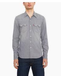 8c764e9fbb Men s Grey Denim Shirts by Levi s