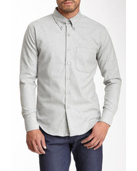 Naked & Famous Naked And Famous Denim Slim Long Sleeve Oxford Shirt