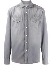 Brunello Cucinelli Washed Denim Shirt