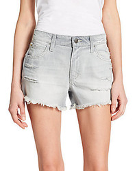 Joe s jeans distressed denim shorts medium 230535