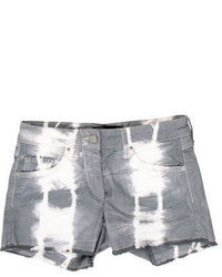 Isabel Marant Tie Dye Denim Shorts