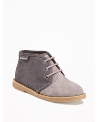 Old Navy Sueded Desert Boots For Toddler