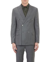 Officine Generale Double Breasted Sportcoat Grey