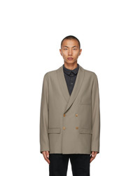 Lemaire Taupe Db Blazer