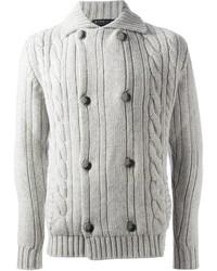 Cable knit cardigan medium 2342