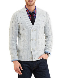 Nautica Cable Knit Cardigan