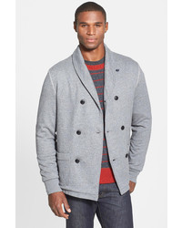 Grayers Shawl Collar Double Breasted Cardigan