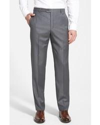 Big tall classic b fit flat front wool trousers medium 321550