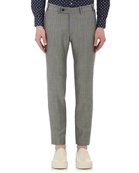 Brooklyn Tailors End On End Wool Mohair Trousers