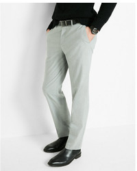 Express Classic Heather Gray Dress Pant