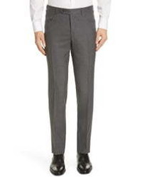 Canali Five Pocket Wool Travel Trousers
