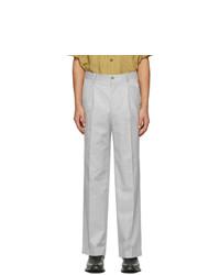 Han Kjobenhavn Grey Boxy Suit Trousers